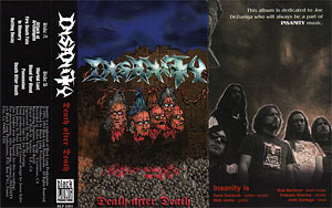 Insanity Death After Death cassette